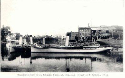 "Romanian Navy's first torpedo boat – ""Rândunica"""