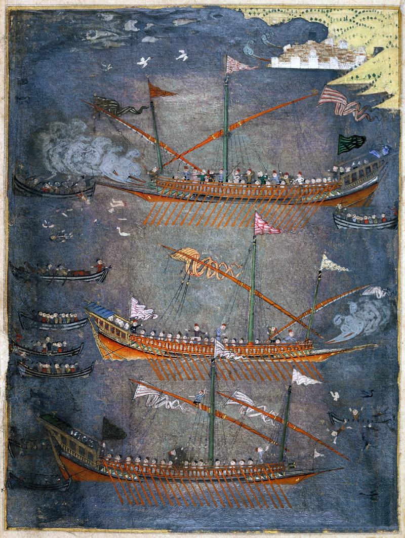 Cazacii şi controlul otoman al Mării Negre