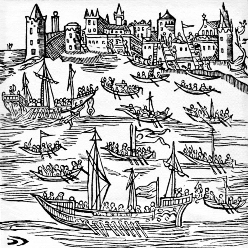 cazaci si otomani in marea neagra