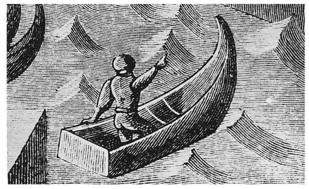 Nave românești uitate: luntrea monoxilă